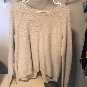 Beige Madewell sweater